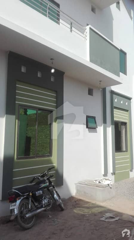 4. 25 Marla Double Storey House Is Available In Hadi Town Sialkot