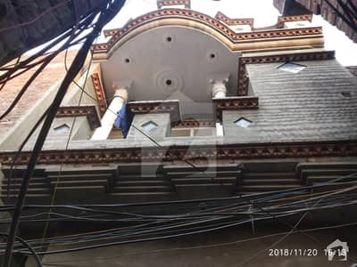 2 Marla Double Storey House With 2 Shops  For Sale