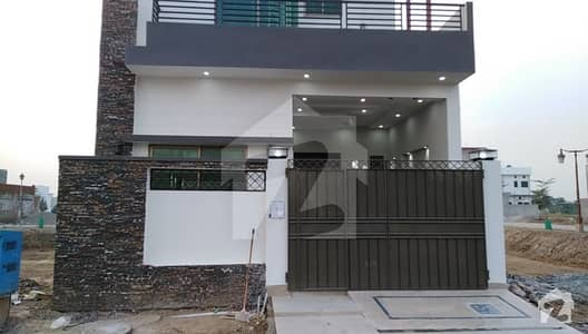 5 Marla Brand New House For Sale Facing Park`