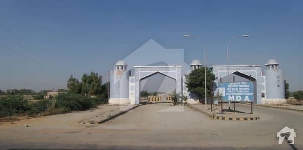 100 Sq Yards Residential Plot Next To Corner For Sale