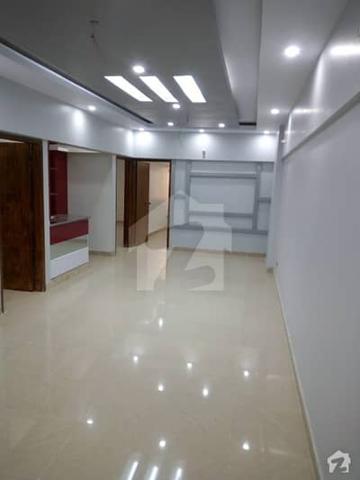 West Open Corner Flat Is  Available For Sale In Al-Ghafoor Orchid Gulshan-e-Iqbal - Block 3
