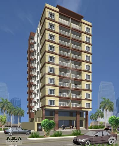 Flat For Sale Al-Rehman Royal Fb Area Karachi