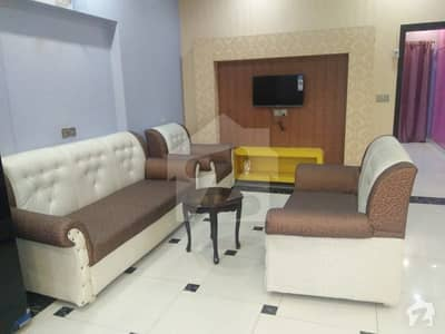 12 Marla Full Furnished Portion Is Available For Rent In Bahria Town Lahore