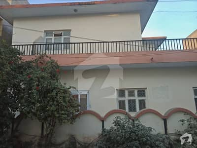 Nice House Double Storey Baqir Colony Lalazar Estate