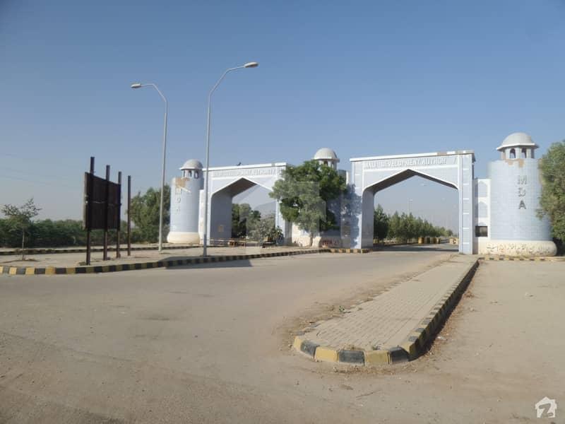 200 Sq. Yard Corner Plot For Sale In MDA Scheme 1 - Sector 9 Karachi