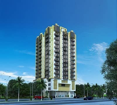 1600 sq fit first floor apartment 3 bed dd at Baloch Colony
