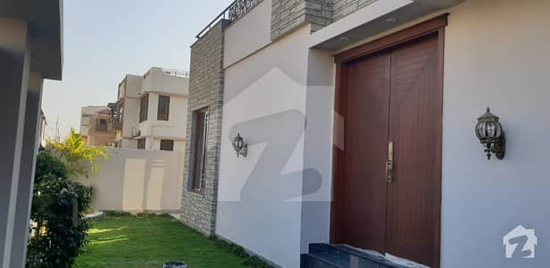 500 Sq Yards Brand New Extra Ordinary Architect Design Bungalow For Sale