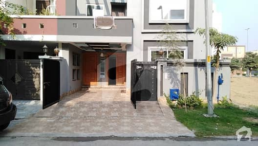 5 Marla Brand New House For Sale In Bb Block Bahria Town Lahore