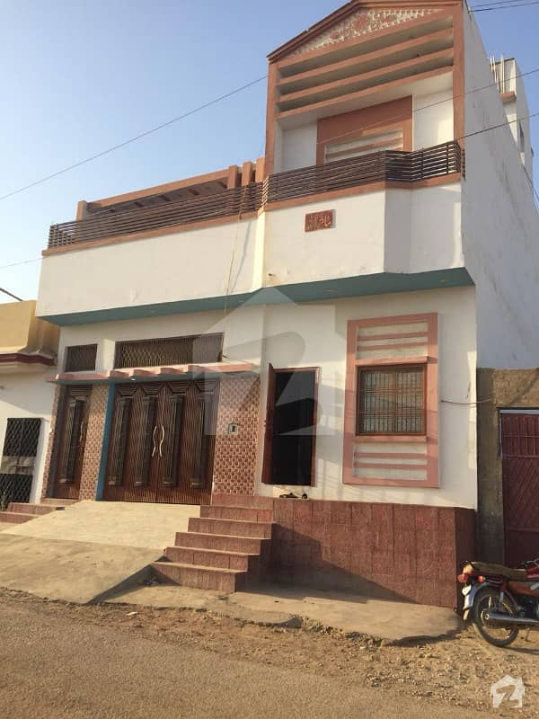 Double Storey Bungalow Available For Sale On Main Road Syed Abad Jamshoro