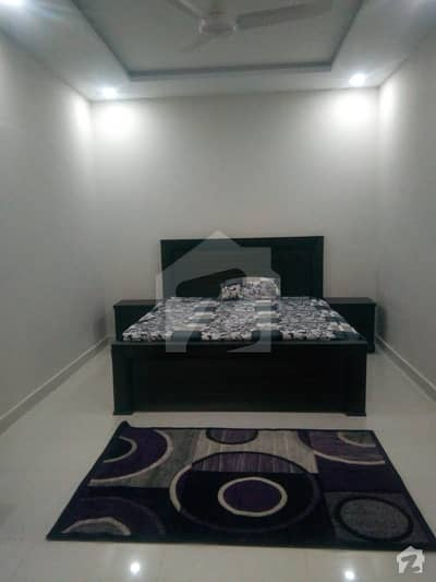 F-8 One Bedroom Fully Furnished For Rent