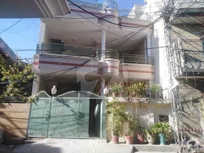 6 Marla Double Storey Beautiful House For Sale In Farooq-e-Azam Road Shamsabad Rawalpindi