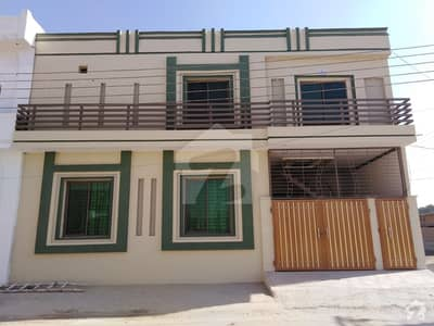 3. 75 Marla Corner Double Storey House For Sale. Making Hot