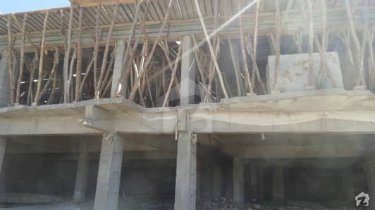 Under Construction Flat For Sale At Sadiq And Fareed Heights Zarghun Road