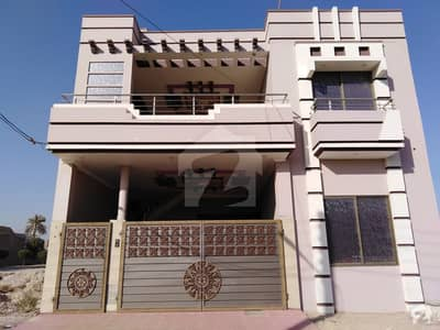 6. 75 Marla Double Storey House For Sale. Park Facing