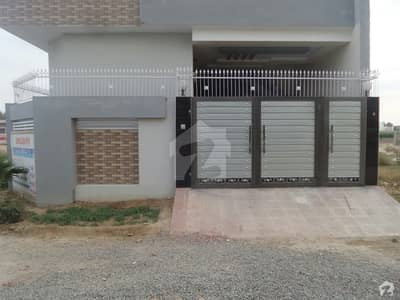 Double Storey Brand New Beautiful Corner House For Sale At Ali Orchard Okara