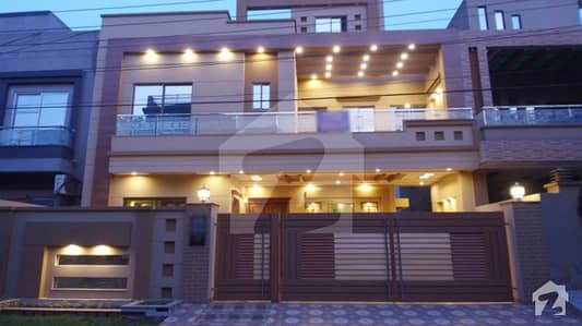 10 Marla Brand New Double Unit 5 Beds With Servant Quarter Beautiful House For Sale In Wapda Town Phase 1  Block K3 Lahore