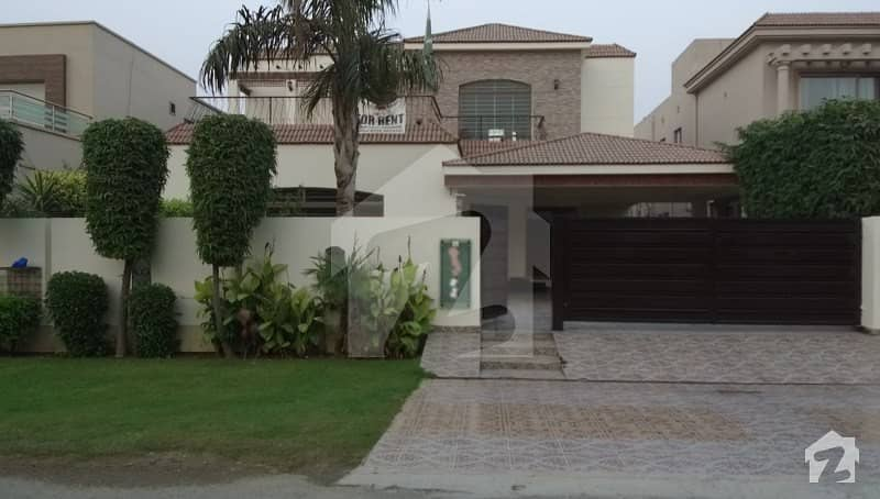 One Kanal Beautiful House For Rent In Dha Phase 5