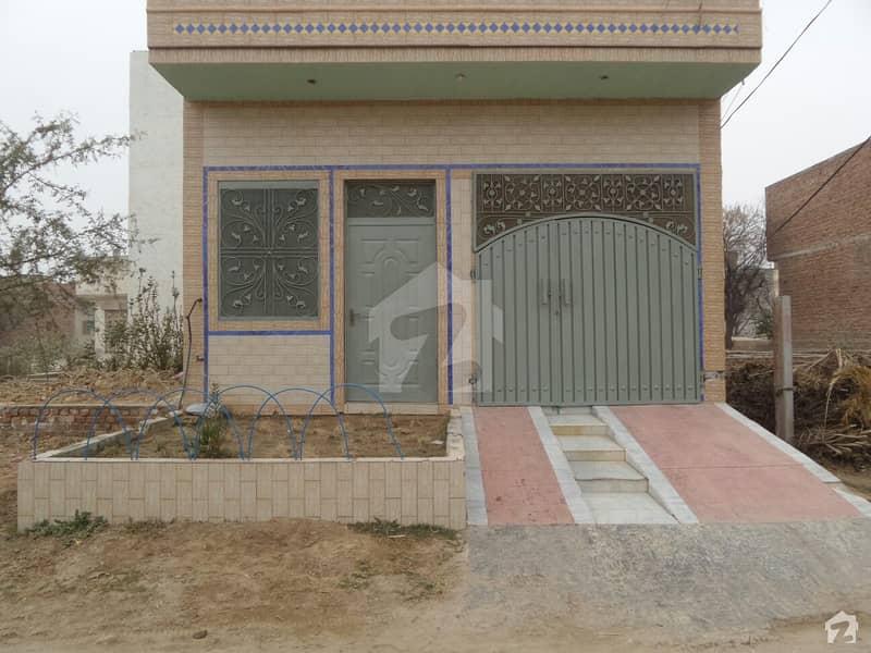 Double Storey Beautiful House For Sale At Canal Garden, Okara