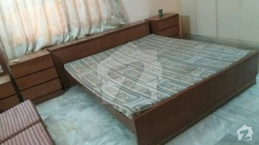 Defence Phase 7 Main Khayaban-e-Jami Near Exact Office 1 Bed Room Attached Washroom Common Kitchen Lounge Furnished Rent