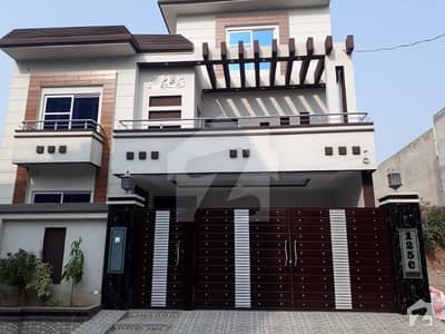 10 Marla Double story Brand New House For Sale Ideal Location Marghzar Colony Block-C Near Sabzazar Scheme Allama Iqbal Town Multan Road Lahore.