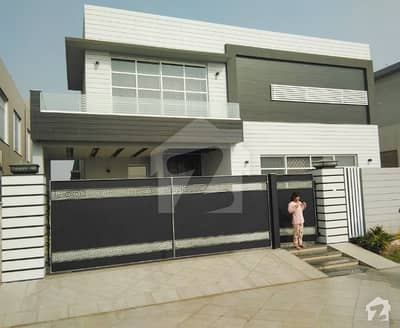 Syed Brother offer 1 Kanal Brand New Beautiful Semi Furnished With Home Thither Bungalow For Rent