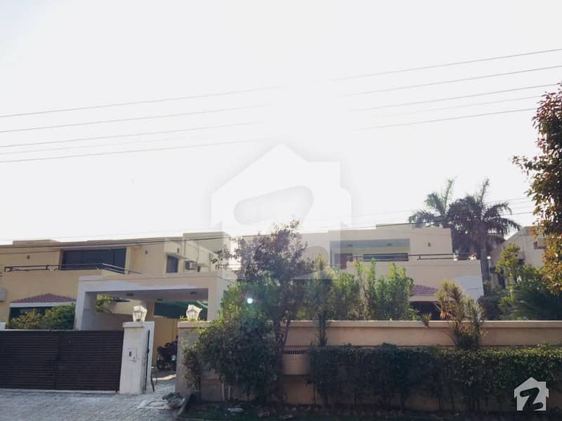 One Kanal Ih House For Rent In Main Back Road Facing Park Of Paf Falcon Complex Gulberg 3 Lahore