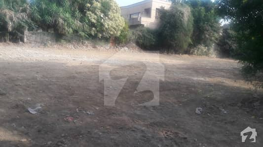 Residential Corner Plot With One Kanal Extra Land Is Available For Sale