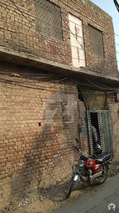 5 Marla House On Ideal Location Is Available For Sale In Nishtar Colony