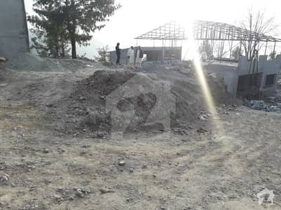 Main Nathya Gali Road Plot For Sale 5 Marla