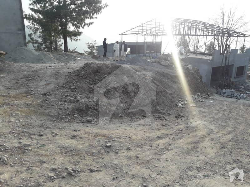 Main Nathya Gali Road Plot For Sale 5 Marla