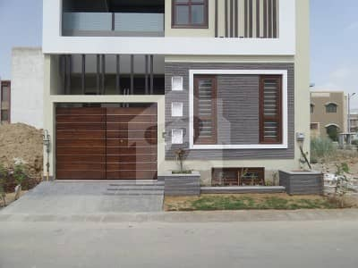 250 Sq Yard Brand New Town House Is Available For Sale In PECHS Block 2