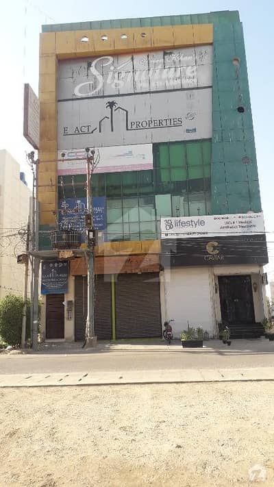 1120 Sq Ft Office In Small Shahbaz Commerical Phase 6 DHA Karachi