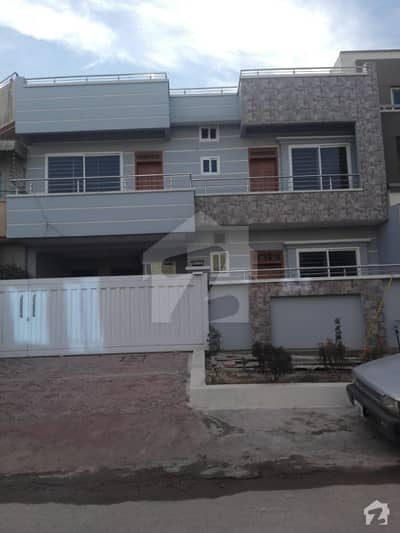 G-13  35x70 Brand New Double Storey House Available For Sale On Prime Location Outclassed Construction Walking Distance To Main Kashmir Highway
