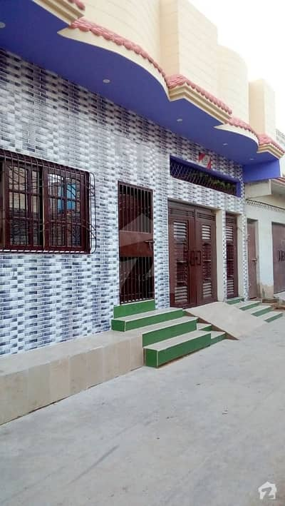 House Is Available For Sale In Ali Abad Colony Hala Naka