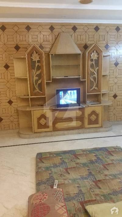 10 Marla Marble Tiled Single Storey Near Main Boulevard Semi Commercial House For Sale
