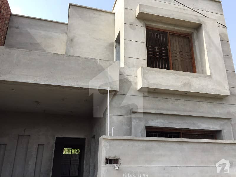 5 Marla Grey Structure House For Sale