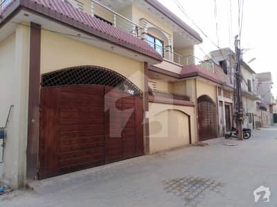 7 Marla Double Storey Corner House Available For Sale