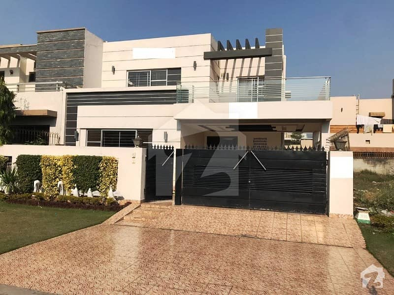 10 Marla Brand New Proper Double Unit Beautiful Modern Luxury Bungalow For Rent  In Dha Phase V