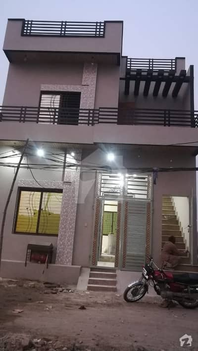 3 Marla Brand New House  Is Available For Sale Imammia Colony Shahdrah