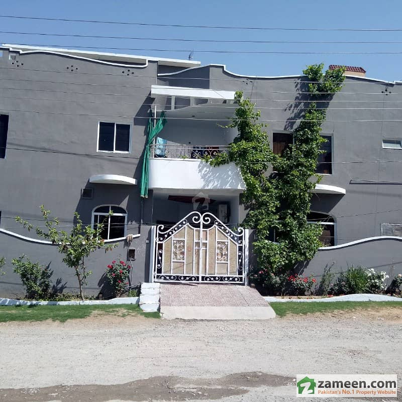 8 Marla Double Unit Corner House For Sale In Bostan Valley High Court Road Rawalpindi