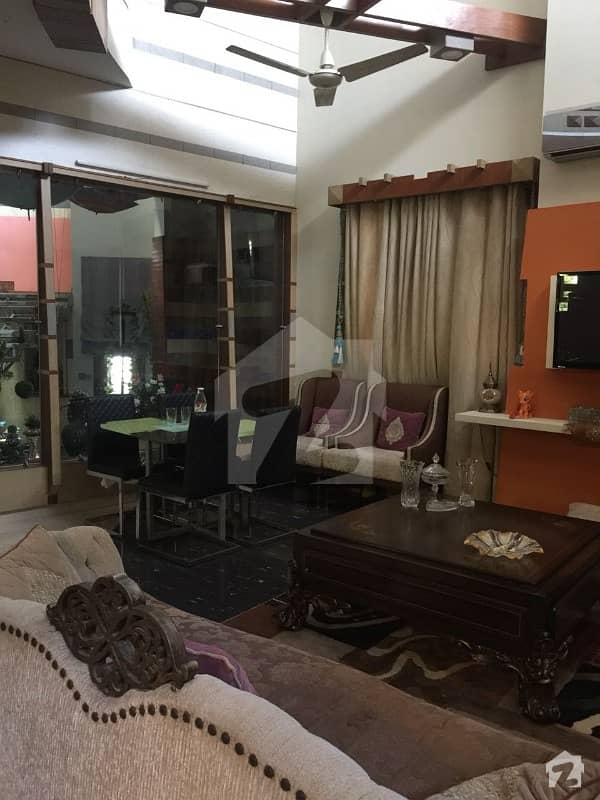 Chance Deal 500 Sq Yards Outclass Owner Built Bungalow With Basement For Sale In Dha