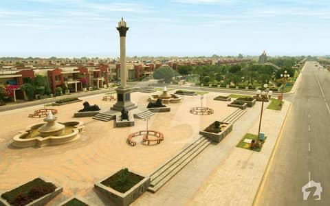 5 Marla Residential Plot For Sale Facing Eiffel Tower