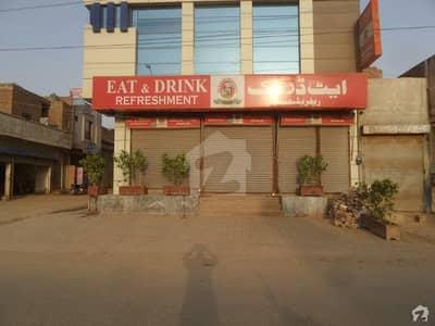 Triple Storey Beautiful Corner Commercial Plaza For Sale At Gt Road Okara