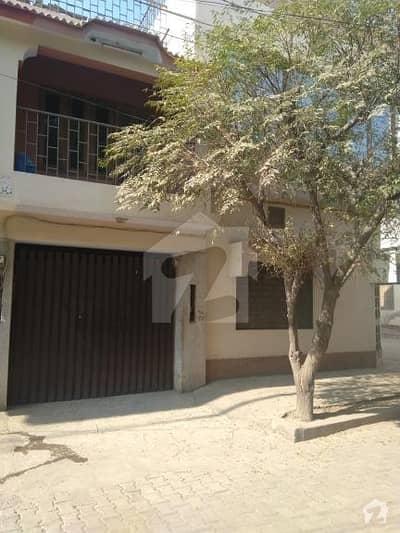 Shah Rukn-e- Alam Colony Multan 5 Marla Double Storey House Main Road View Corner Location