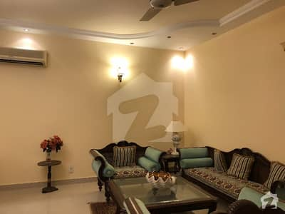 666 Yards Fully Furnished Ground Portion Is Available For Rent