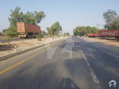16 Kanal Commercial Plot is available for sale on Multan Road Sahiwal