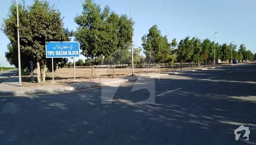 Plot For Sale In Tipu Sultan Block  Bahria Town Lahore