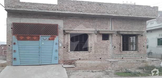 Un Complete Single Storey,30 Feet Amd 25 Feet Road Facing House For Sale