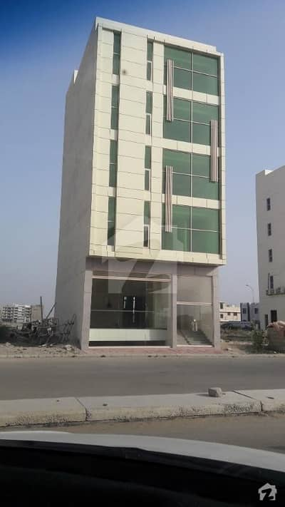 Commercial Building Is Up For Sale In DHA Phase 8 Karachi