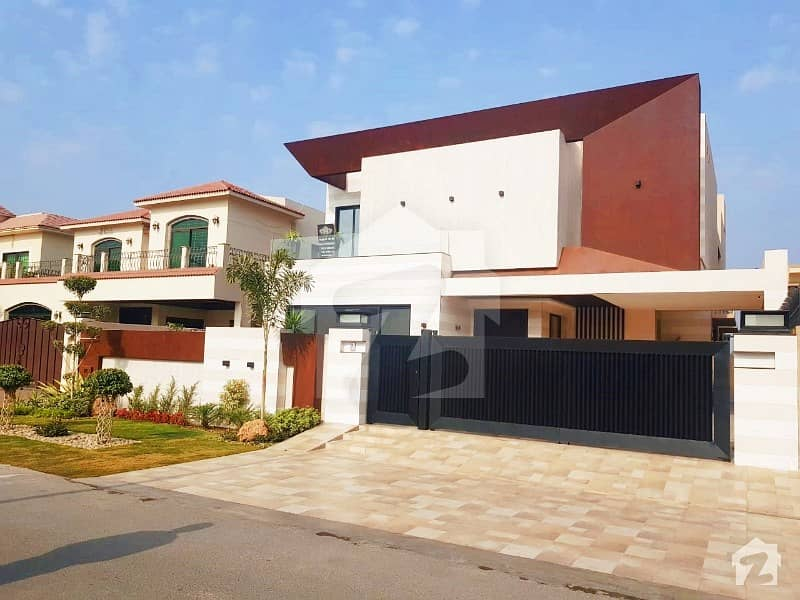 Syed Brothers 1 Kanal Brand New Beautiful Bungalow Near Sector Park In Phase 5 Dha